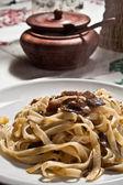Pasta with mushroom — Stock Photo