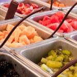 Frozen yogurt topping — Stock Photo
