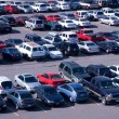 Stock Photo: Parking lot