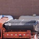 camiones por carretera de mantenimiento — Foto de Stock