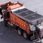 Road maintenance truck — Stock Photo