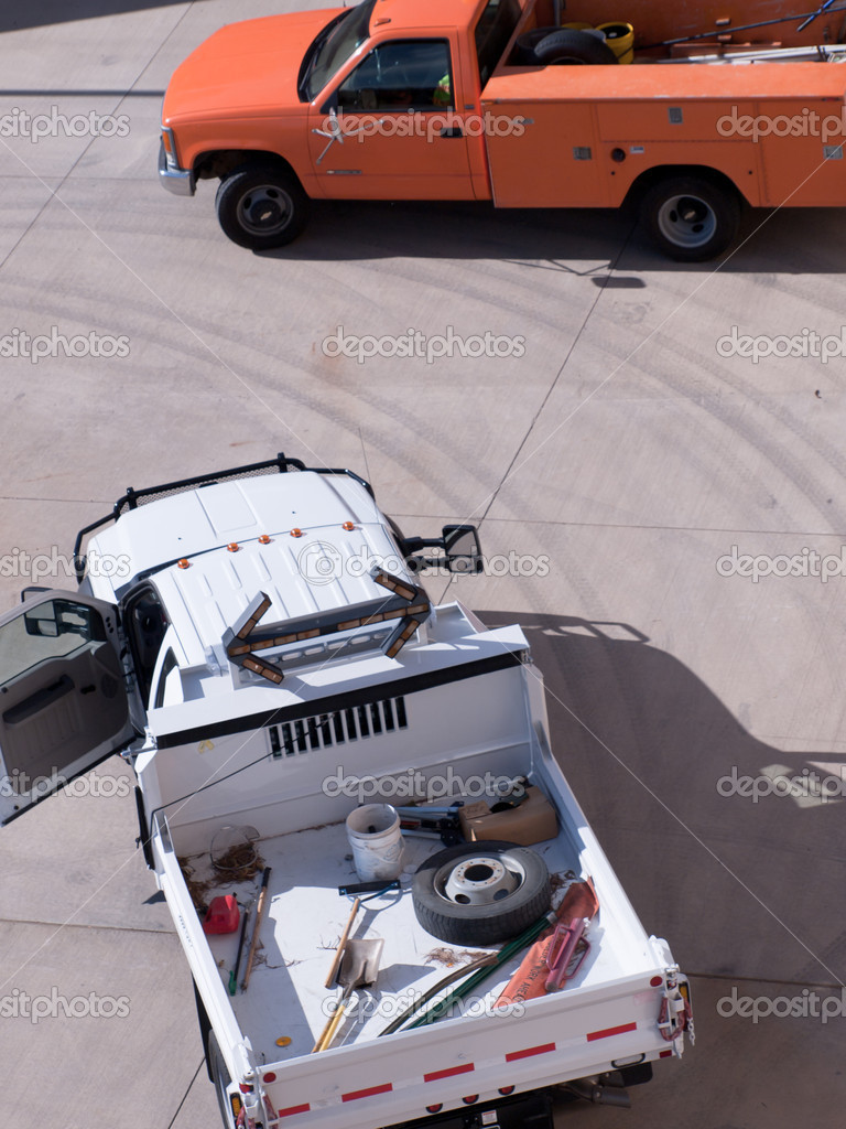 Road maintenance truck. — Stock Photo #6783843