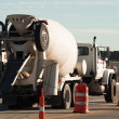 Cement mixer truck — Stock Photo #6790883