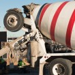 Cement mixer truck — Stock Photo #6790889