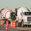 Cement mixer truck — Stock Photo #6790949