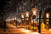 City at Christmas — Stock Photo