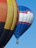 Palloni di aria calda — Foto Stock