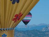 Varm luft ballonger — Stockfoto
