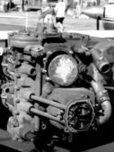 Airplane Engine — Stock Photo