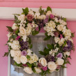 Stock Photo: Summer Wreath
