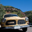 Old Yellow Car — Stock Photo #7194150