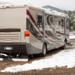 Stock Photo: RV Camping