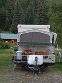 Rv campeggio — Foto Stock