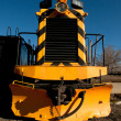 Yellow Locomotive — Stock Photo #7885402