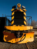Yellow Locomotive — Stock Photo