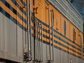 Yellow Train — Stock Photo