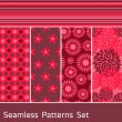 Seamless Patterns Set — Stock Vector #7298378
