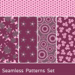 Seamless Patterns Set — Stock Vector #7298512