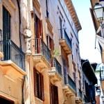 Architecture of Spain. Palma de Mallorca. balearic islands — Stock Photo