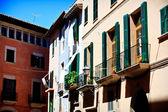Palma de Mallorca. old city. Majorca. Spain — Stock Photo