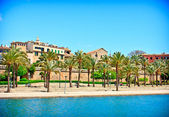 Palma de Mallorca, in Spain — Stock Photo