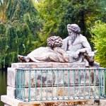 Lazienki - Royal Park in Warsaw. Poland. — Stock Photo