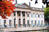 Palace on the Island in Lazenki park. Warsaw, Poland — Stock Photo