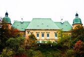 Ujazdowski Castle, Warsaw. Poland — Stock Photo