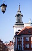 Warsaw, Old Town. UNESCO World Heritage Site. Poland — Stock Photo