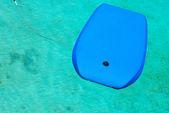Swimming board in pool — Stock Photo