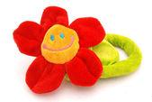 Happy flower toy — Stock Photo