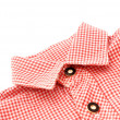 Bavarian shirt collar — Stock Photo