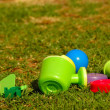 Stock Photo: Garden toys for kids