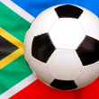 Soccer South Africa — Stock Photo