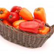 ������, ������: Peppers in basket
