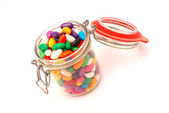 Colorful candy glass — Stock Photo