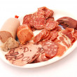 German cold meat platter — Stock Photo