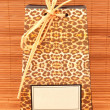 Royalty-Free Stock Photo: African gift bag