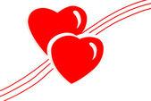 любовь сердца иллюстрация — Стоковое фото