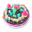 Child birthday cake — Stock Photo