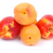 Apricots and peaches — Stock Photo #6980060