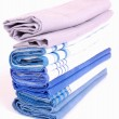 Stock Photo: Stack of handkerchiefs