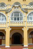 Entrance luxury hotel — Stock Photo