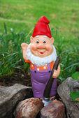 Garten goblin — Stockfoto