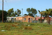 South African township — Stock Photo