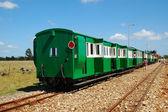 Apple Express train — Stock Photo