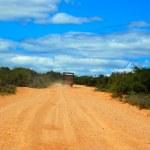 African adventure road — Stock Photo