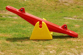 Seesaw in park — Stock Photo