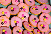 Pink pastry — Stock Photo