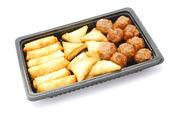 Fast food snack paketi — Stok fotoğraf
